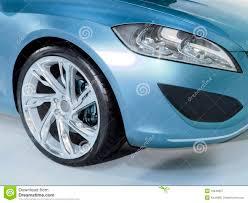 Wiel En Lamp Van Auto Stock Afbeelding Afbeelding Bestaande Uit