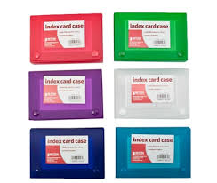 Index Card 3x5 Index Card Case 3x5 Assorted Index Card Case Trans 3x5 Assorted