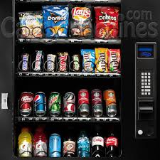 Vending Machines With Credit Card