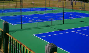 Post Tensioned Tennis Court Design Tennis Court Construction Tennis Court Refinishing Pickle