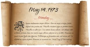 Image result for On May 14, 1973