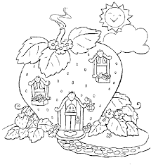 strawberry shortcake raspberry coloring page strawberry shortcake raspberry strawberry shortcake house