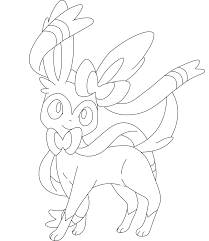 7 Sylveon Lineart Simple For Free Download On Ayoqqorg