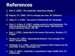 "followers and followership aged thought for the day ""a river  the leadership experience chapter 7 daft"