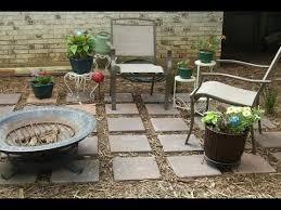 cheap backyard ideas no grass. enchanting brown rectangle ancient soil cheap yard ideas ornamental ceramics floor design interesting backyard no grass