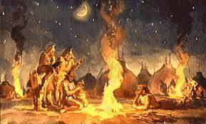 Огонь роль огня в жизни человека Этот метод упростил жизнь древнему человеку больше не приходилось прикладывать много усилий вращая палку ладонями Воспламененным очагом можно было