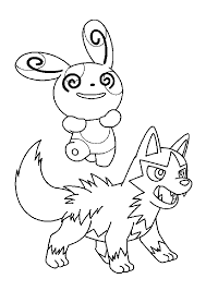 Coloriage Pokemon Sur Hugolescargot Com