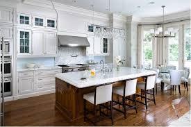 marble kitchen island white cabinets
