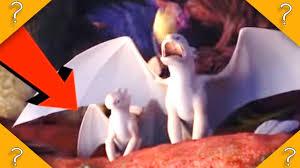 Light Fury Dragon Babies Baby Light Fury In New Httyd Trailer