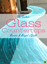 glass countertops with curved edge and backlighting text overlay glass countertops review and er s