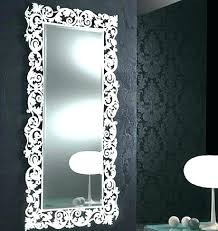silver framed bathroom mirrors. Simple Mirrors Elegant Silver Framed Bathroom Mirror  On Silver Framed Bathroom Mirrors