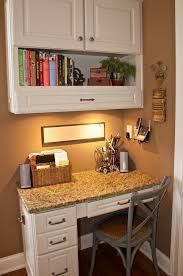 Kitchen Desk Corner Kitchen Desk Pull Out Drawer In Top Cabinet Would Be A