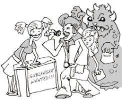 sublease PK august 2014 ~ the hollywood intern diaries on itemized bid worksheet