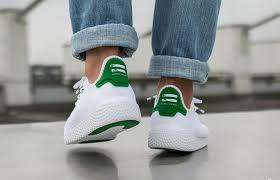 adidas pharrell. adidas pharrell williams tennis hu white green ba7828 by2674 buy new sneakers trainers for man women i