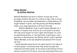 essay on nelson mandela as a role model << research paper help essay on nelson mandela as a role model