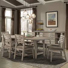 weathered wood dining table. Corliss Landing Wood Rectangular Trestle Dining Table In Weathered Driftwood Grey T