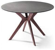 whiteline redondo round dining table