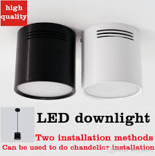 high quality open ended led downlight led light filled downlights round ceiling mounted downlight chandelier 3w 18w whole led downlight downlight led