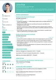 Free Modern Executive Resume Template The 17 Best Resume Templates Fairygodboss