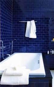 Wonderful Dark Blue Bathroom Tiles W Inside Simple Ideas