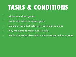 Video Game Designer Responsibilities Video Game Designer By Maria Yepez