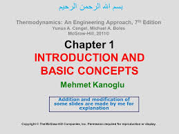Chapter 1 INTRODUCTION AND BASIC CONCEPTS Copyright © The McGraw ...