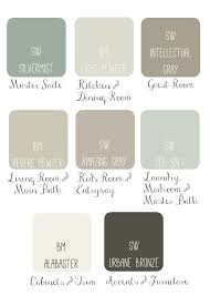 pewter color paintWhole House Paint Scheme Idea Soothing  Sophisticated