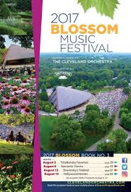 Blossom Music Center Lawn Seating Chart 2017 Blossom Music Festival August 5 6 12 13 Concerts By
