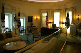 lbjs office president. LBJ Presidential Library: Mock Up Of The Oval Office Lbjs President