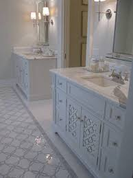 hayden marble bathroom mirrored