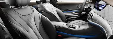 front leather seats of the 2018 mercedes benz s class
