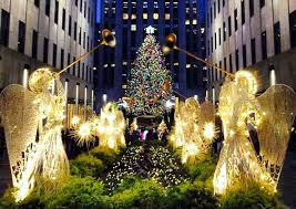 2016 rockefeller center tree lights up the night with 45 000 solar powered leds inhabitat green design innovation architecture