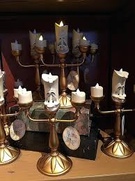 candle holder new light up figurine beauty and the beast battery powered lumiere tealight primark beauty the beast live action figure candelabra