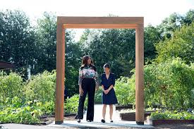 michelle white house kitchen garden
