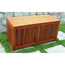 suncast elements resin patio storage end table garden black outdoor box wooden seat