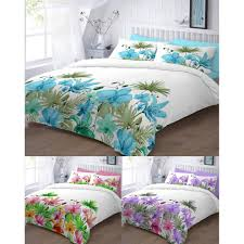 lily printed duvet cover bedding set single double king super king on on