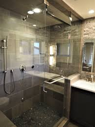 cherry creek master bathroom with a steam shower