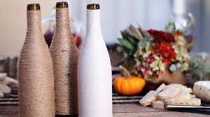 How To Decorate A Bottle Of Wine Cool DIY Crafts Made From Wine Bottles YouTube 41