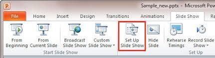Define Custom Show dialog box Indezine