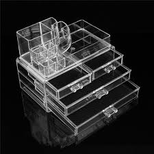 Eyeshadow Display Stand Impressive Online Shop 32 Layers Clear Acrylic Cosmetic Drawers Makeup Storage