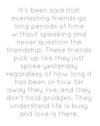 Long Quote About Friendship