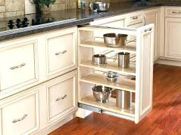 kitchen cabinet racks pull out shelves for cabinets build slide sliding organizers drawers storage organizer