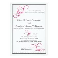 pink christian wedding cards zazzle Wedding Card In Christian deep rose pink god is love christian wedding card wedding card christian messages
