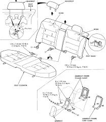 Repair guides interior seat back seat heat plus wiring diagram at back seat diagram