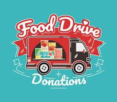 Food Drive Posters Food Drive Non Perishable Food Charity Movement Vector Badge