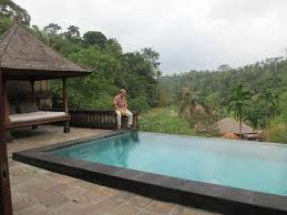 Our private infinity pool villa at The Payogan Villa Resort in Ubud Bali