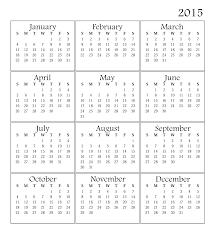 Printable Calendar 2015 Yangah Solen