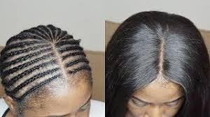 Middle Part Braid Pattern New Middle Part Sew In Tutorial Jasmine Defined Most Popular Videos
