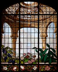 a trompe l oeil glass c 1884 eugène stanislas oudinot design richard morris hunt for home of henry gurdon marquand new york city