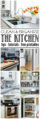 Kitchen Organize 17 Best Images About Kitchen Organization And Cleaning Tips On